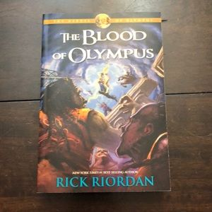 Other - Rick Riordan book The Blood of Olympus.